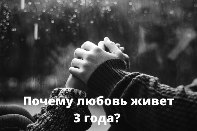 Почему любовь живет три года